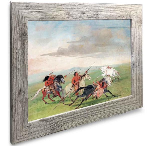 Comanche Feats Of Horsemanship George Catlin