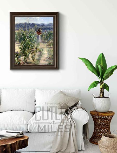 Grape Harvesting By Elin Kleopatra Danielson Gambogi By Elin Kleopatra Danielson Gambogi