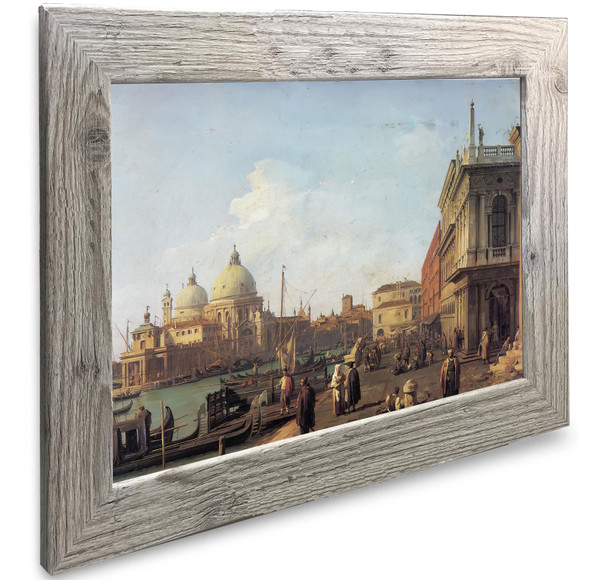 Entrance To The Grand Canal Canaletto