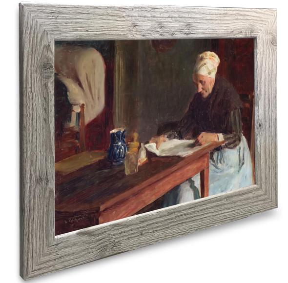 French Woman Reading Edward Henry Potthast