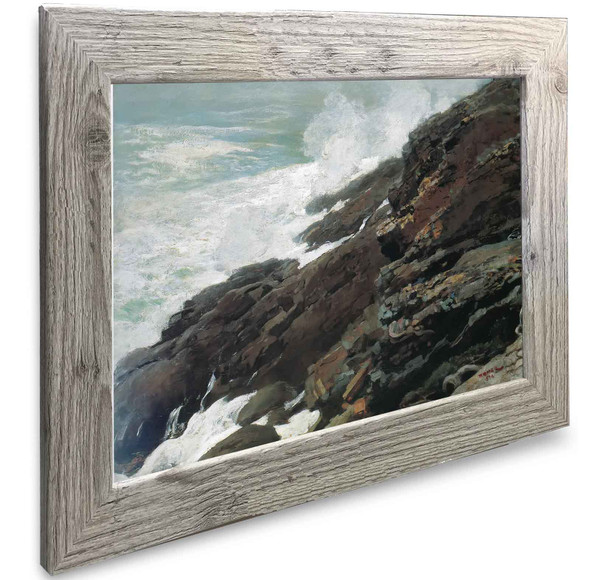 High Cliff Coast Of Maine Winslow Homer