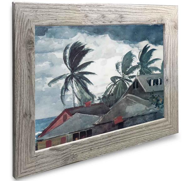 Hurricane Bahamas Winslow Homer