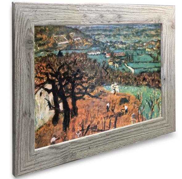 Landscape In Dauphine Pierre Bonnard