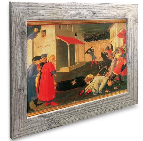 Linaiuoli Tabernacle The Martyrdom Of St Mark Fra Angelico2