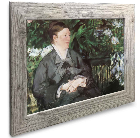 Mme Manet In The Conservatory Edouard Manet