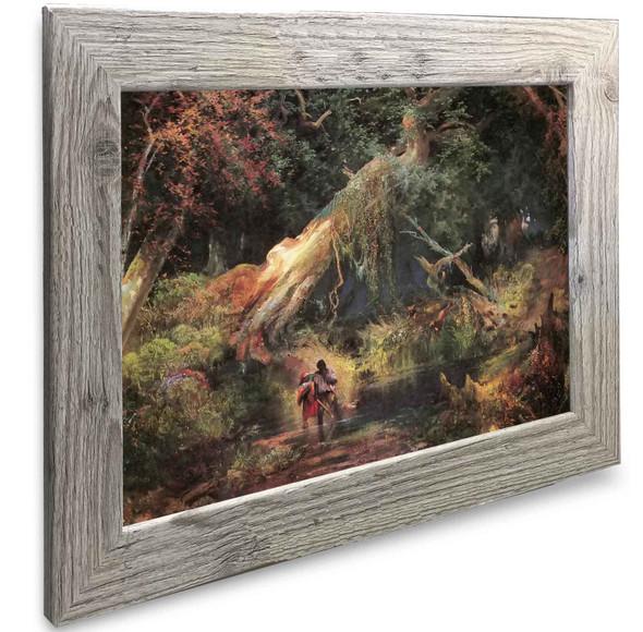 Slave Hunt Dismal Swamp Virginia Thomas Moran