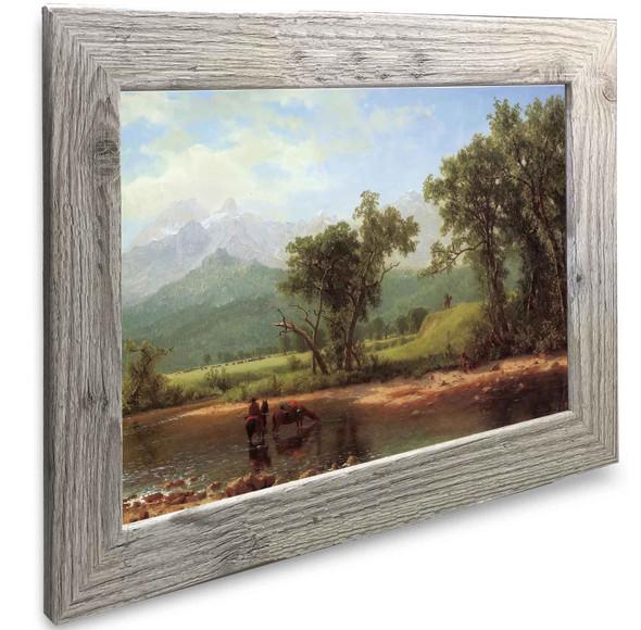 Sweetwater River Albert Bierstadt