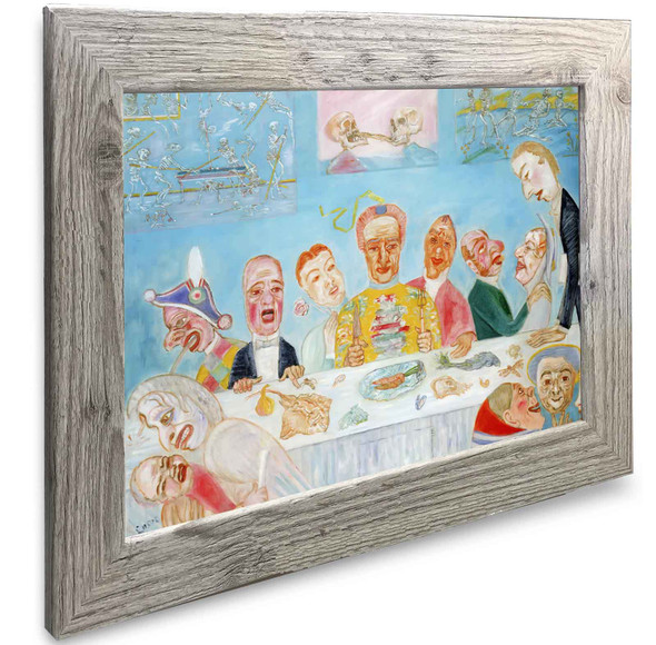 The Banquet Of The Starved James Ensor