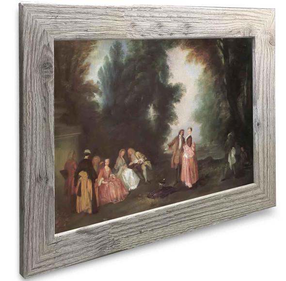 The Conversation Antoine Watteau