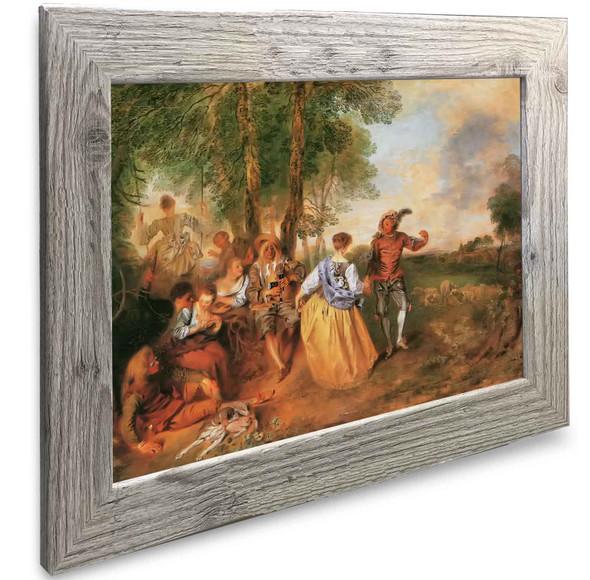 The Sheperds Antoine Watteau
