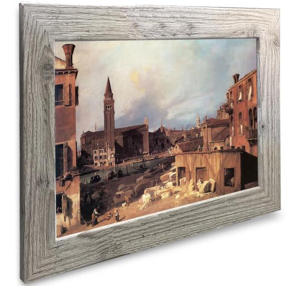 The Stonemasons Yard (1) Canaletto