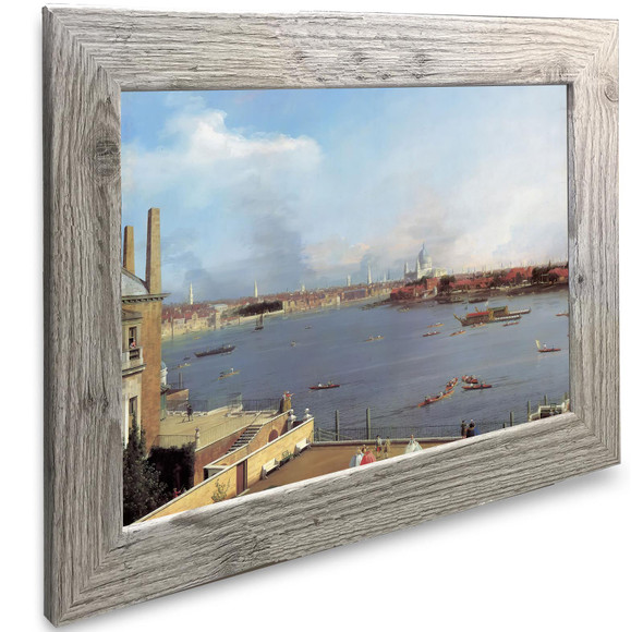 The Thames And The City Of London Canaletto