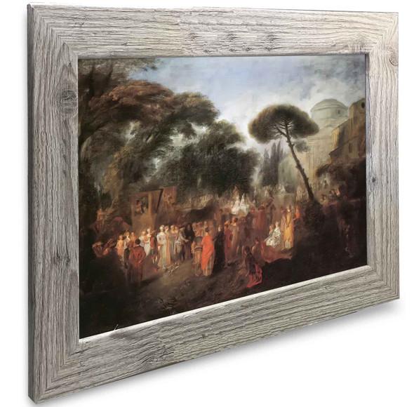 The Village Antoine Watteau