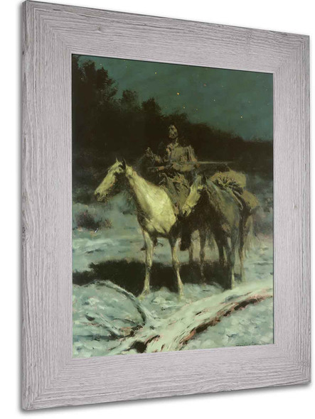 A Dangerous Country by Frederic Remington