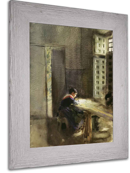 A Tapestry Manufacturer by Anders Zorn