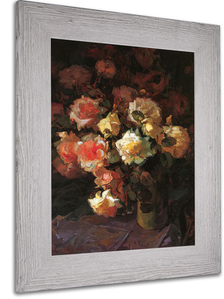A Tapestry Of Roses by Franz a Bischoff