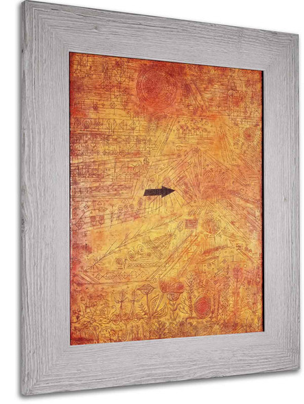Arrow In The Garden by Paul Klee