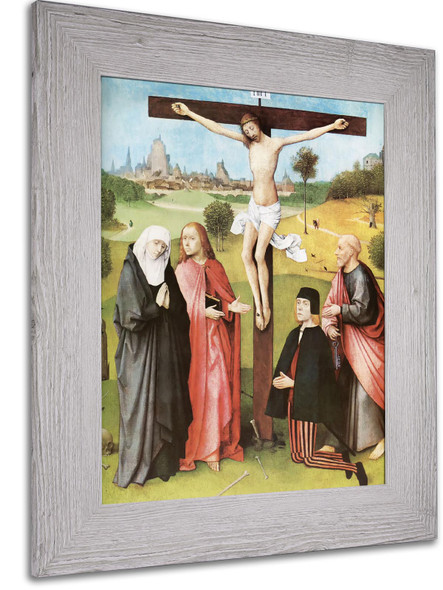 Calvary With Donors by Hans Memling