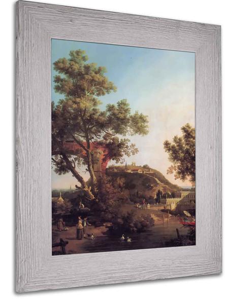 Capriccio by Canaletto