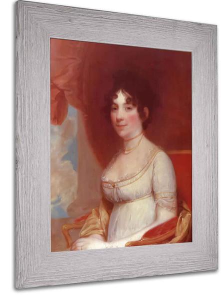 Dolley Madison by Gilbert Stuart