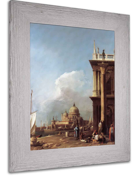 Entrance To The Grand Canal From The Piazetta by Canaletto