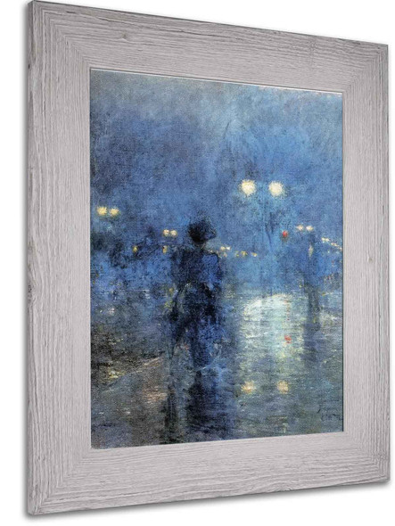 Fifth Avenue Nocturne by Frederic Remington