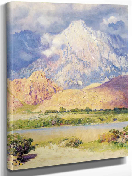 Gathering Storm High Sierra by Guy Rose