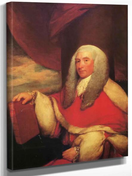 George Hamilton by Gilbert Stuart