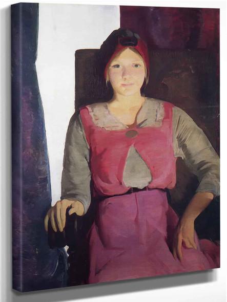 Geraldine Lee No 2 by George Bellows