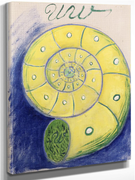 Group 1 Primordial Chaos No 5 by Hilma Af Klint