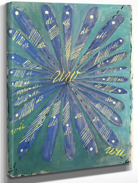 Group 1 Primordial Chaos No 25 by Hilma Af Klint