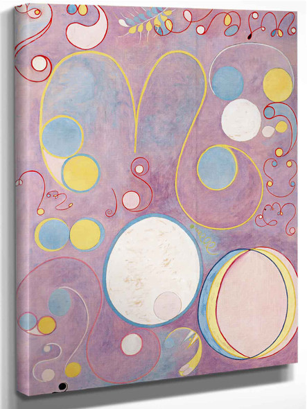 Group Iv The Ten Largest No 8 Adulthood by Hilma Af Klint