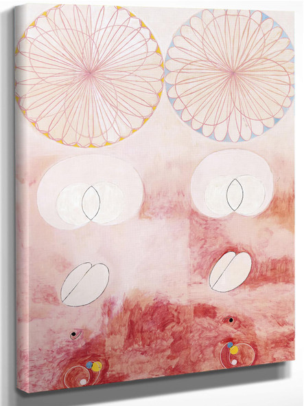 Group Iv The Ten Largest No9 Old Age by Hilma Af Klint