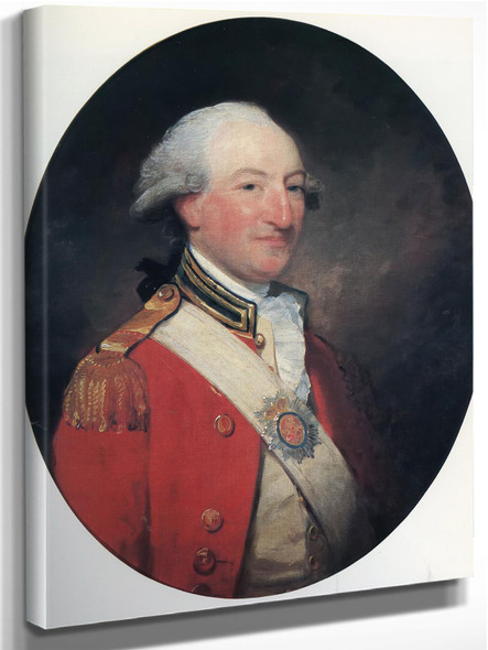 Hugh 2Nd Duke Of Northumberland by Gilbert Stuart