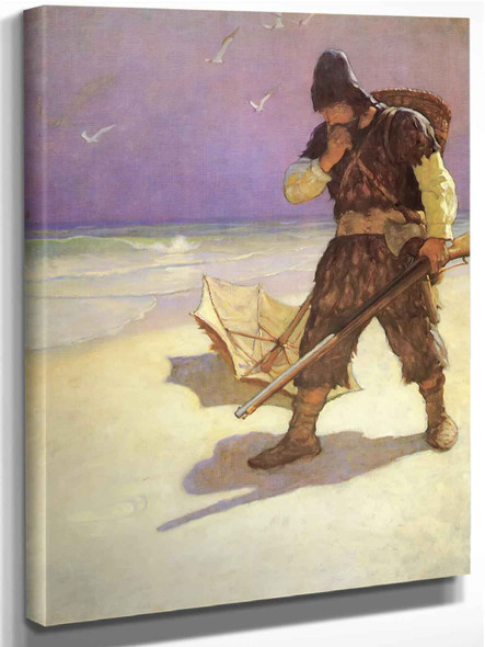I Stood Like One Thunderstruck Or As If I Had Seen An Apparition by Nc Wyeth