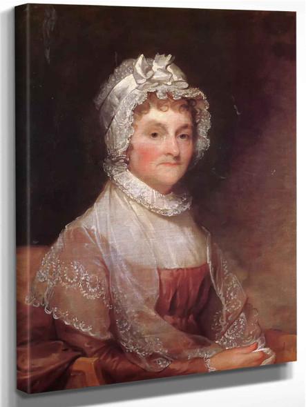 Mrs John Adams by Gilbert Stuart