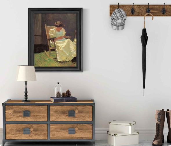 Mrs Nc Wyeth by Nc Wyeth