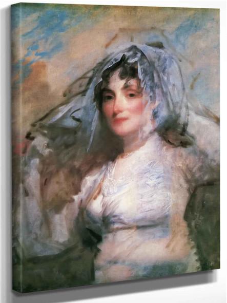 Mrs Perez Morton by Gilbert Stuart