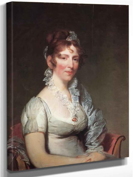 Mrs Stephen Salisbury I by Gilbert Stuart