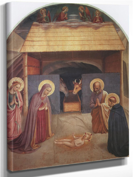 Nativity 1441 by Fra Angelico