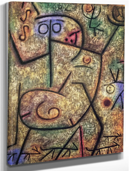 O These Rumors by Paul Klee
