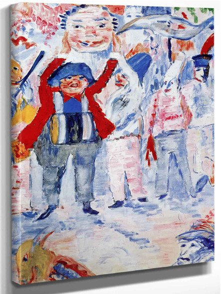 Outsider And Loner by James Ensor