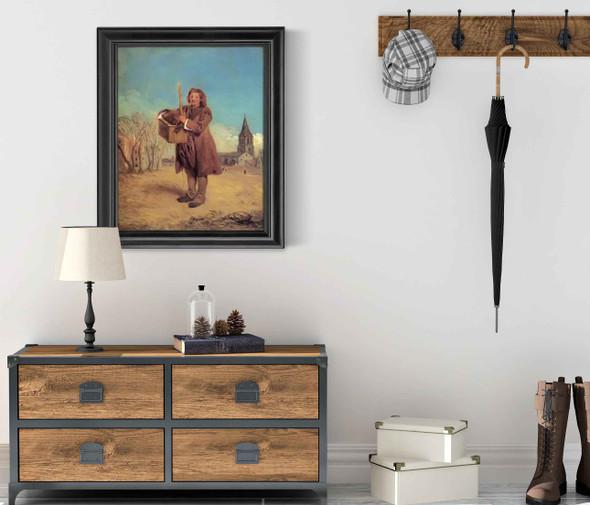 Savoyard With A Marmot by Antoine Watteau
