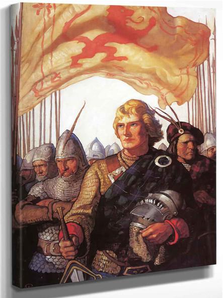 Scottish Chiefs by Nc Wyeth
