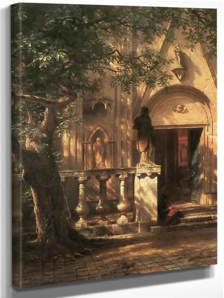 Sunlight And Shadow by Albert Bierstadt