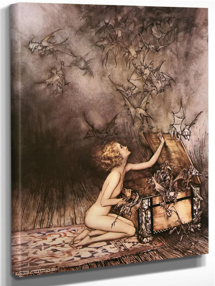 Swarm Of Winged Creatures by Arthur Rackham