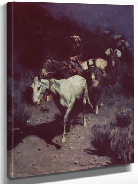 The Bell Mare by Frederic Remington