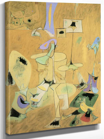 The Bertrothal Ii by Arshile Gorky