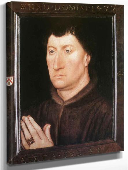 The Canon Gilles Joye by Hans Memling