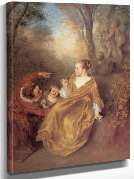 The Family by Antoine Watteau